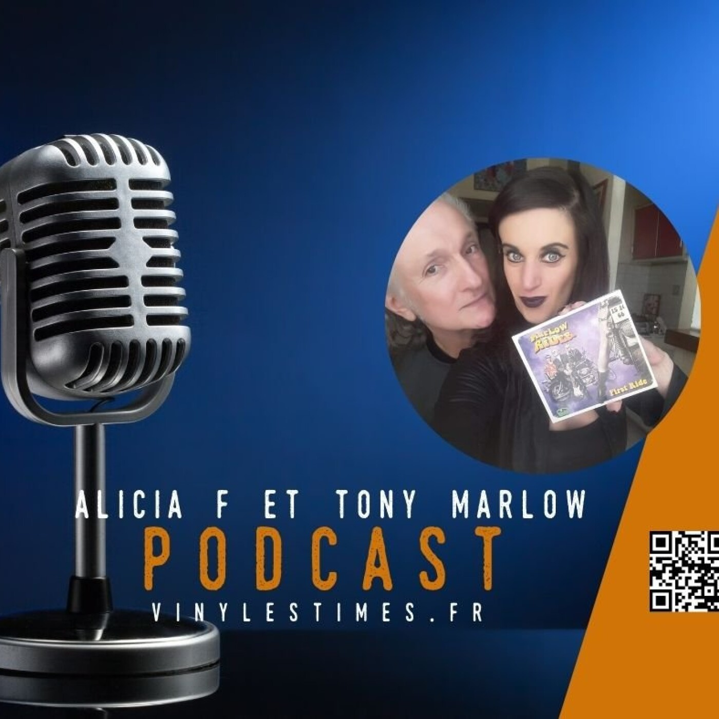 Last Ride - Interview Alicia F et Tony Marlow.