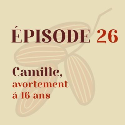 Camille, avortement à 16 ans cover