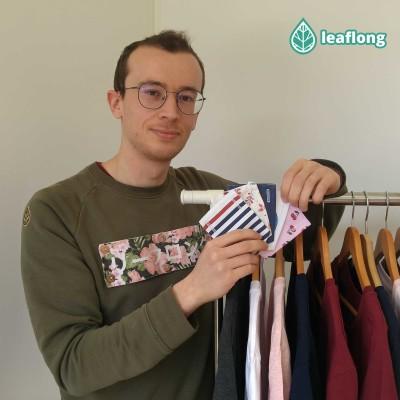 La marque de vêtement éthique Leaflong avec Matéo Grippon cover