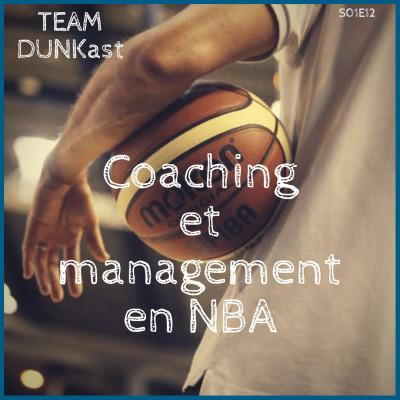 Team Dunkast - Coaching et management en NBA cover