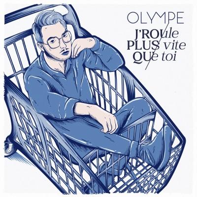 Olympe présente son nouveau titre, J'roule plus vite que toi - 08 09 2021 - StereoChic Radio cover