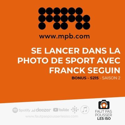 BONUS - S215 - Se lancer dans la photo de sport avec Franck Seguin cover