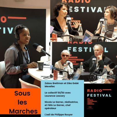 Zabou Breitman, Eléa Gobé Mevellec, Laurence Lascary et le couple Le Garrec - 16 mai 2019 cover