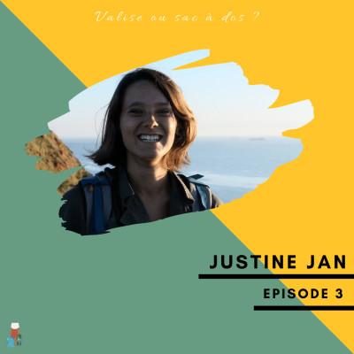 #3 Justine Jan - France-Chine (sans avion) cover