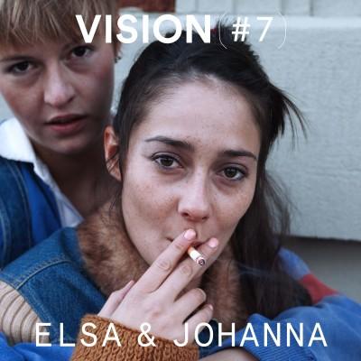 VISION #7 - ELSA & JOHANNA cover