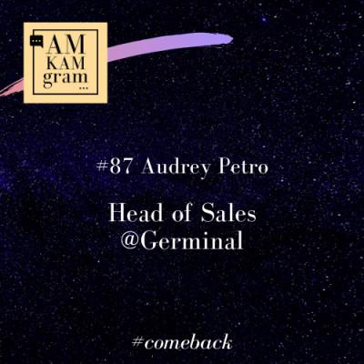 Episode 87 : Audrey, Head of Sales chez Germinal (comeback) cover