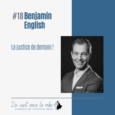 Benjamin English – La justice de demain ! cover