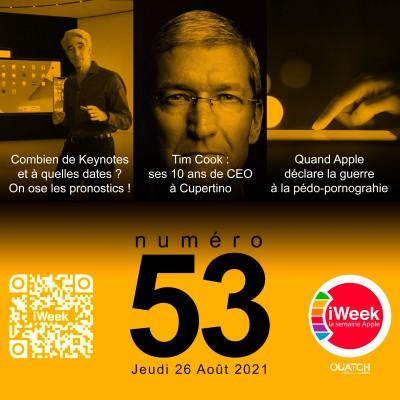 iWeek (la semaine Apple) 53 : quelles dates pour les keynotes jusqu'à Noël ? cover