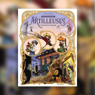 Les Artilleuses avec Christophe Arleston & Pierre Pevel - Sponso #7 cover