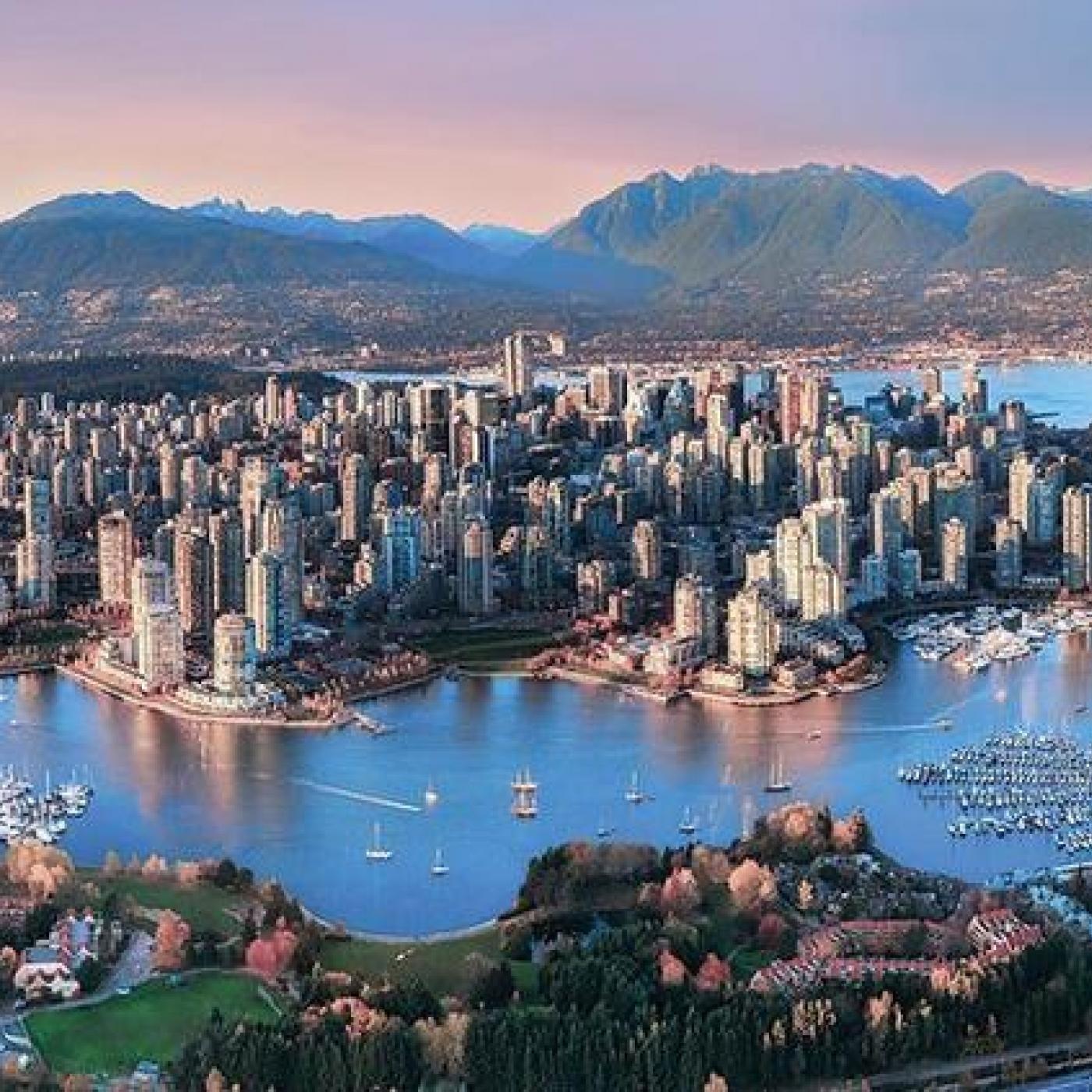 Cédric à Vancouver (Canada)