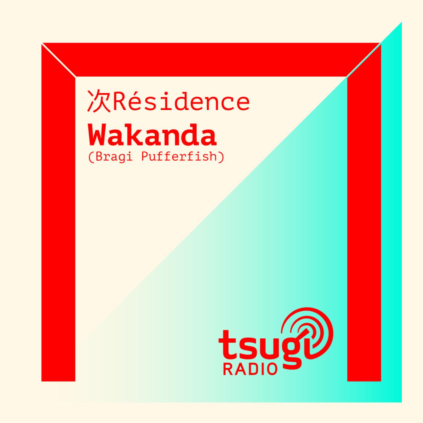 [DJ SET] Bragi Pufferfish avec Wakanda (Juillet 2021)