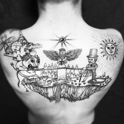 [replay] Frédéric Agid, tatoueur illustrateur psy cover