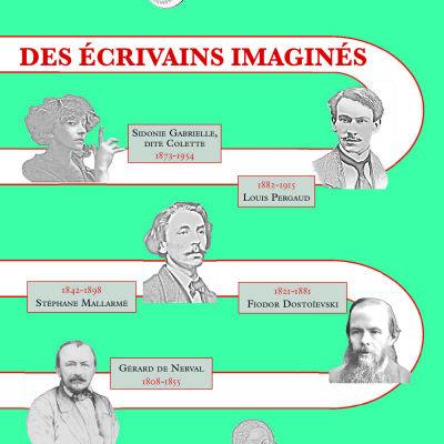 image Des écrivains imaginés | Par Cécile Villaumé