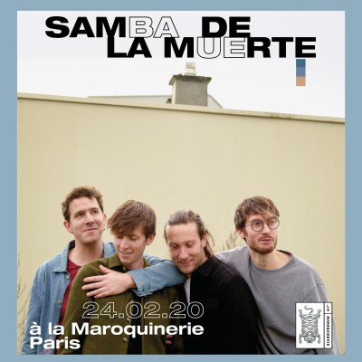SAMBA DE LA MUERTE | live à La Maroquinerie cover