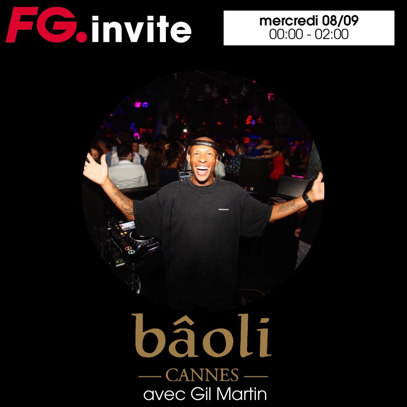 FG INVITE : LE BAOLI DE CANNES