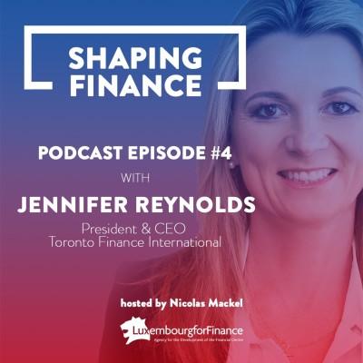 EPISODE 4: JENNIFER REYNOLDS, CANADA'S ROLE IN INTERNATIONAL FINANCE cover