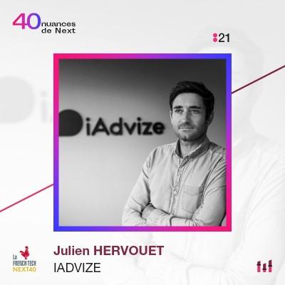 :21 Part 1 - Julien Hervouet - iAdvize : la chance, c'est le travail qui ne se voit pas ! cover