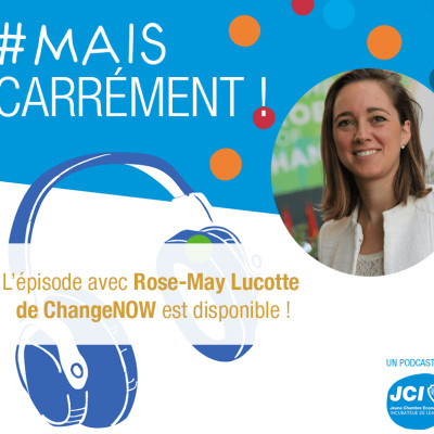 #1. Rose-May Lucotte - Co-fondatrice de ChangeNow cover