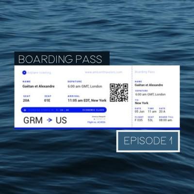 Boarding Pass 001 ✈️ Hammock et Luca Longobardi cover