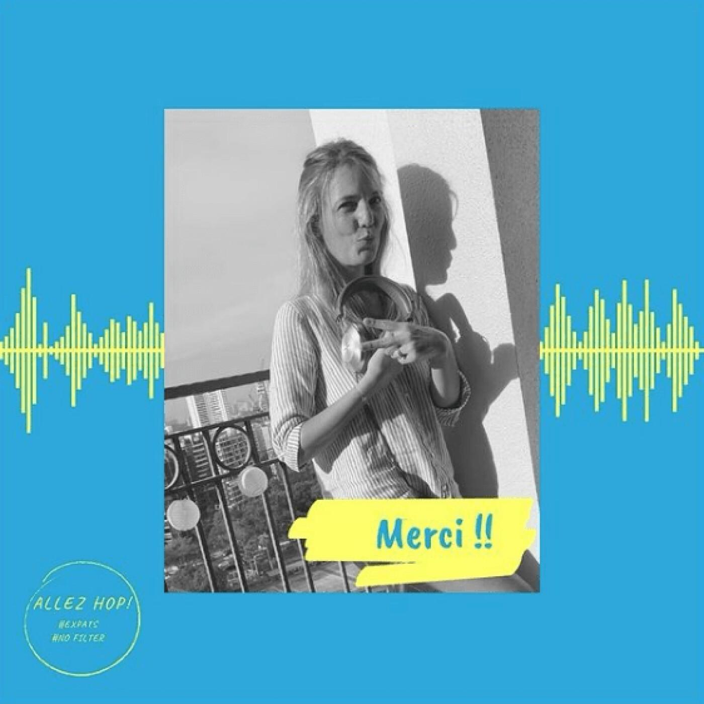 Natalia parle de son podcast Allez Hop qui fait parler les Expats - 13 07 2021 - StereoChic Radio