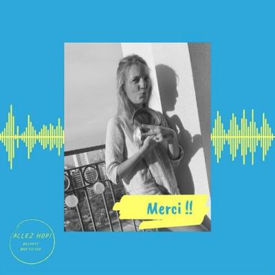 Natalia parle de son podcast Allez Hop qui fait parler les Expats - 13 07 2021 - StereoChic Radio cover