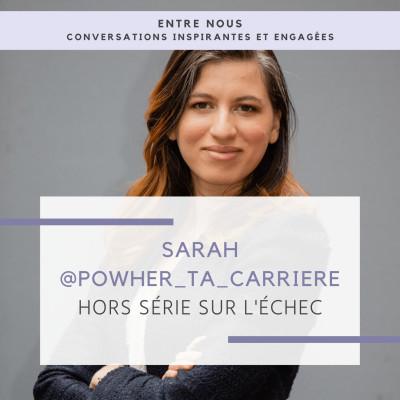 Hors série #1 - L'échec - Sarah cover