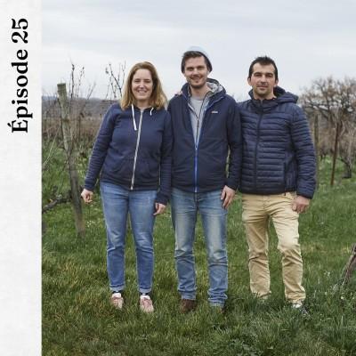 #25 | Thomas Lemasle, Véronique et Franck Terral - Des vins délicieux pour la planète cover