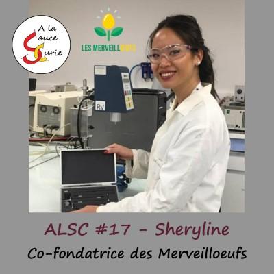Sheryline, co-fondatrice des Merveilloeufs [ALSC S0217] cover