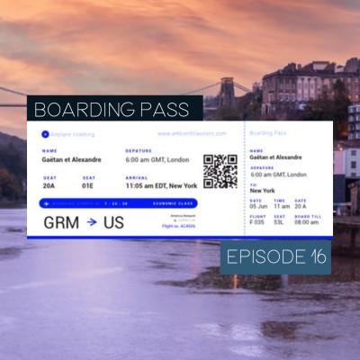 Boarding Pass 016 ✈️ Corre et Rahikka cover