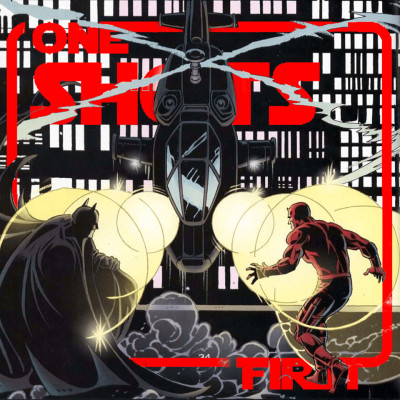 One Shots First #9 - Bat Team Up cover