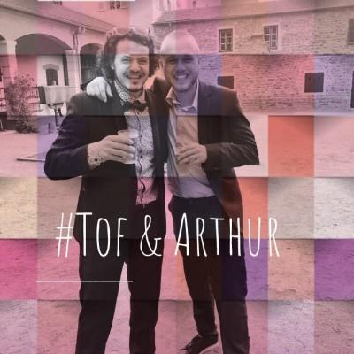 """3. Tof & Arthur : """"Tof c'est mon humain préféré sur Terre"""" cover"""