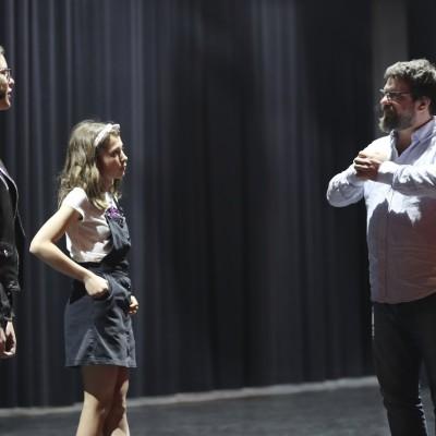 Atelier théâtre des Tanzmatten : This is the job présenté au public ce week-end cover