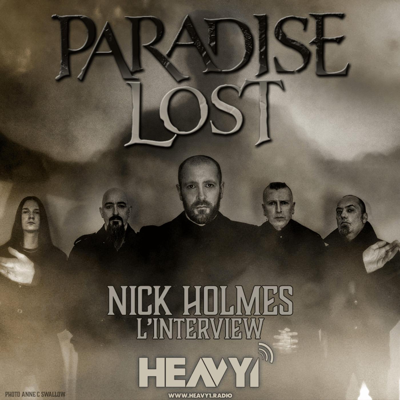 Entretien avec Nick Holmes de Paradise Lost