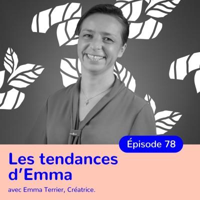 Emma Terrier, Les Tendances d'Emma, convictions et passion cover