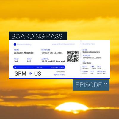Boarding Pass 011 ✈️ Ana Roxanne et Belorusia cover