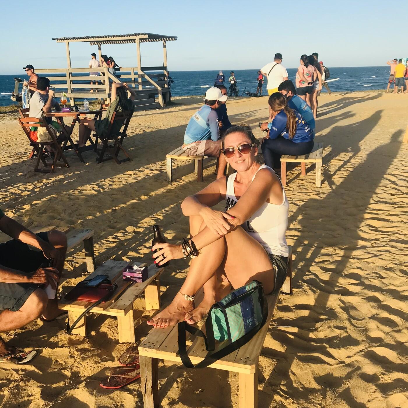 Laurence sur sa superbe plage au Brésil - 23 07 2021 - StereoChic Radio