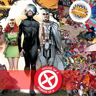 ComicsDiscovery S04E39 HoX PoX cover
