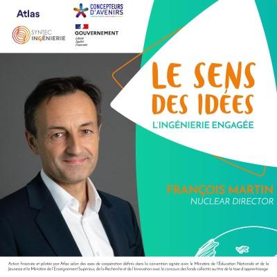 ÉNERGIE NUCLÉAIRE - François Martin, Nuclear Director cover