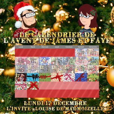 Calendrier de l'avent 17 décembre Louise de Madmoizelle cover