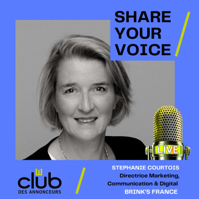 SHARE YOUR VOICE : STÉPHANIE COURTOIS, BRINK'S cover
