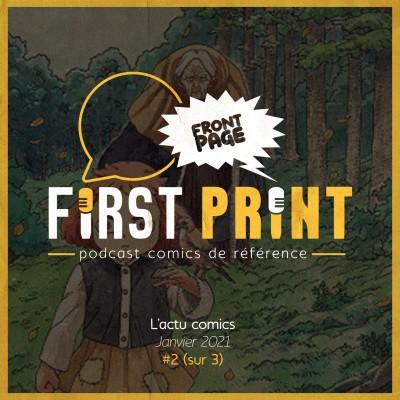 Front Page : l'actualité comics de janvier 2021 #2 (sur 3) ! cover
