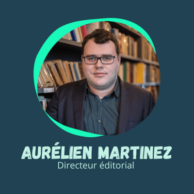 Du Droit au métier passion - Aurélien Martinez, Directeur éditorial cover