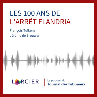 #11 - Les 100 ans de l'arrêt Flandria cover