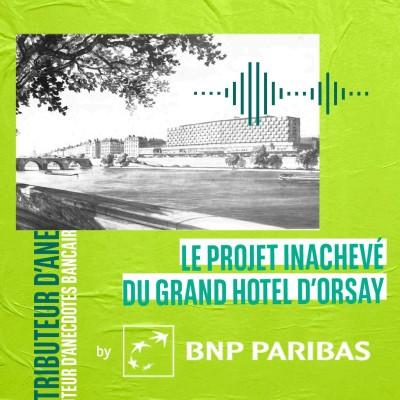 Le projet inachevé du Grand Hôtel d'Orsay cover