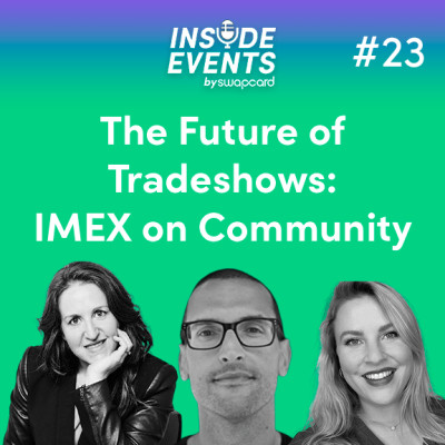 The Future of Tradeshows: IMEX on community with Carina Bauer cover