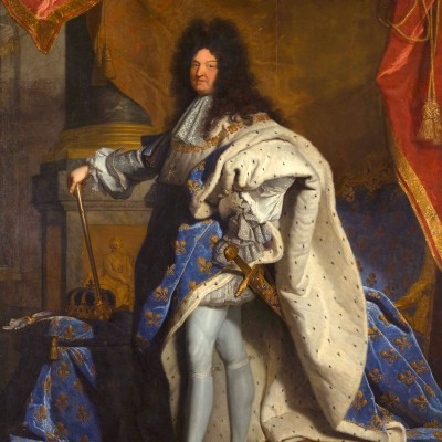 Le portrait du roi Louis XIV cover