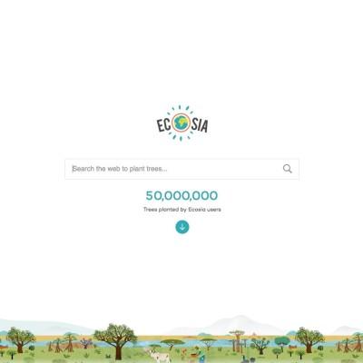 Ecosia : moteur de recherche solidaire ! cover