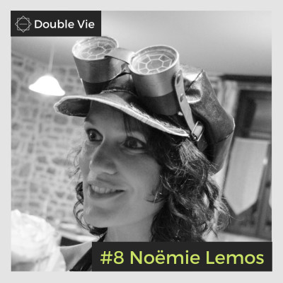 #8 Noëmie Lemos — Autrice dans l'imaginaire et ingénieur agronome cover