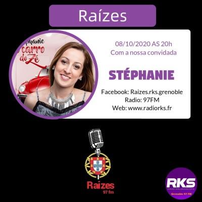 RAIZES - Emission du 08/10/2020 avec Stéphanie Coimbra cover