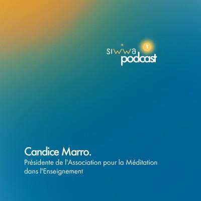 Candice Marro : Présidente de l'Association pour la Méditation dans l'Enseignement. cover